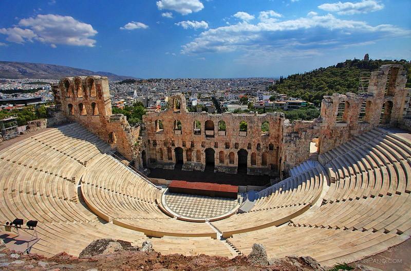 достопримечательности афины греция фото